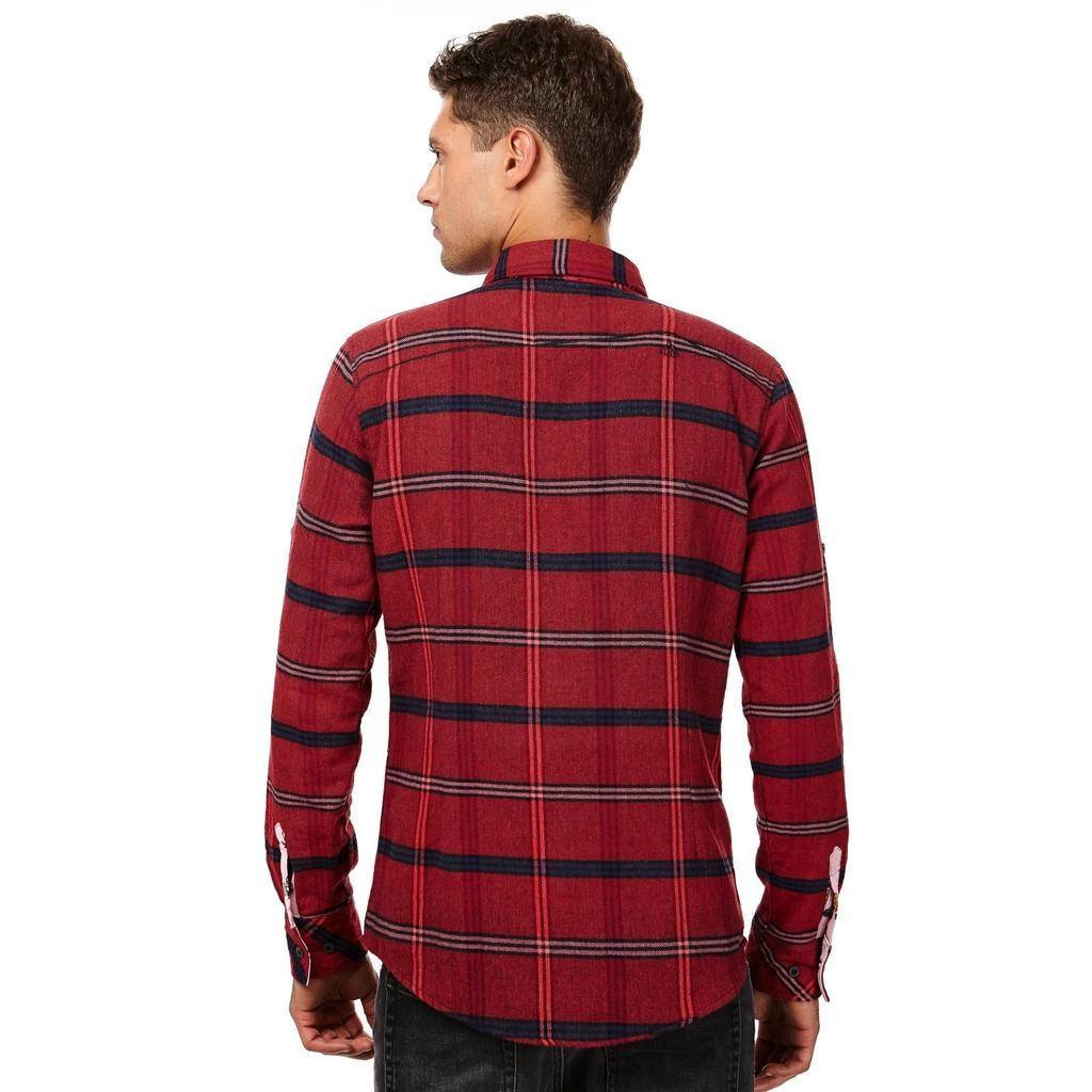 Einstoffen Einstoffen, Nick Sax Hemd, rot, S