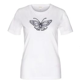 armedangels Armedangels, Lidaa Butterfly, white, L