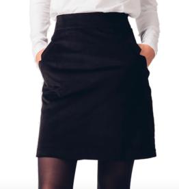 Skunkfunk Skunkfunk, Redene Skirt Cord, black, S (38)