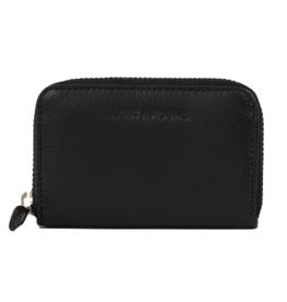Lost & Found Accessories Lost & Found, Mini Reissverschluss Portemonnaie, black