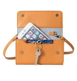 Lost & Found Accessories Lost & found, Mini Tasche, mustard