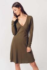 Skunkfunk Skunkfunk, Balen Dress, olive, M (40)