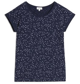 armedangels Armedangels, Livaa Blown Blossoms T-Shirt, evening blue, S
