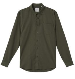 Minimum Minimum, Jay 2.0 Shirt, drab melange, M