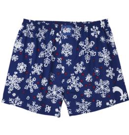 Lousy Livin Lousy Livin, Boxer Snow flakes, blau, S