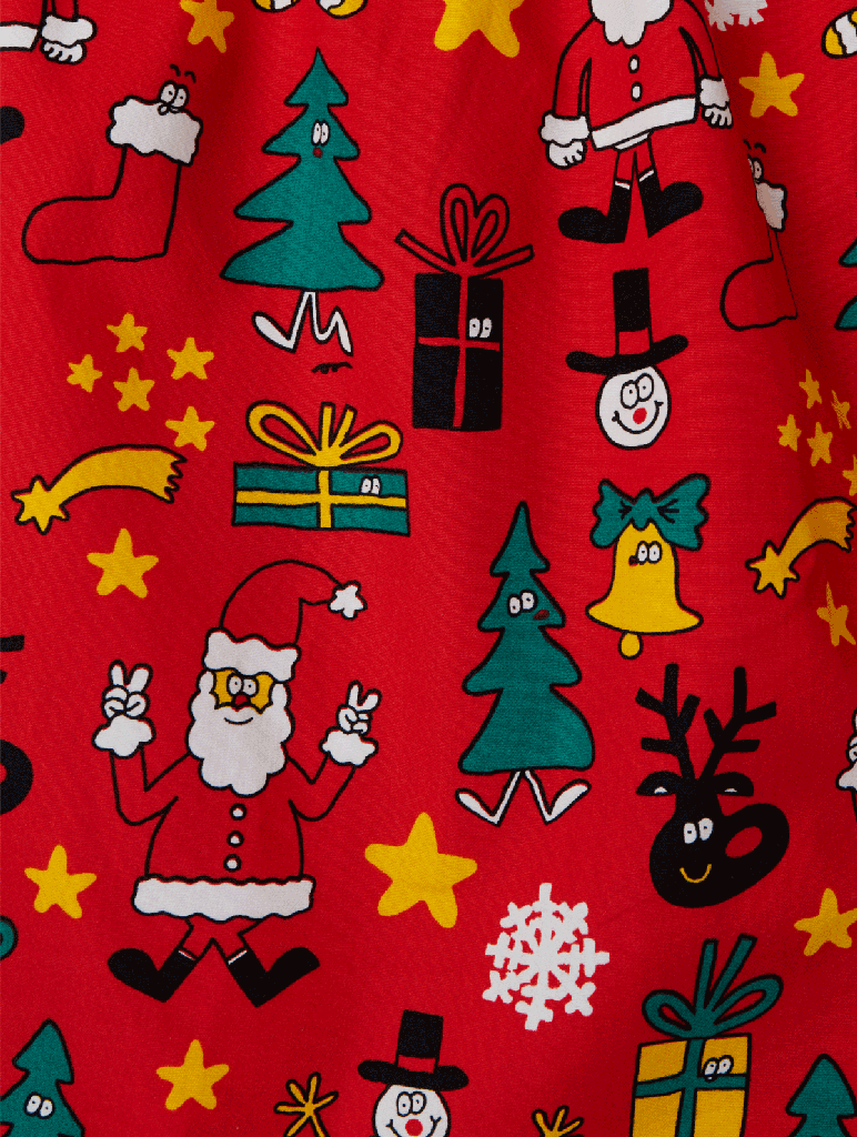 Lousy Livin Lousy Livin, Boxer Christmas Night, red, L