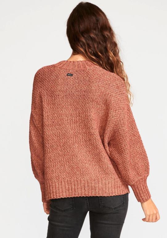 RVCA RVCA, Volt Sweater, nutmeg, S