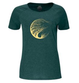 ZRCL ZRCL, W T-Shirt Circle Tree, green stone, M