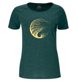 ZRCL ZRCL, W T-Shirt Circle Tree, green stone, XS