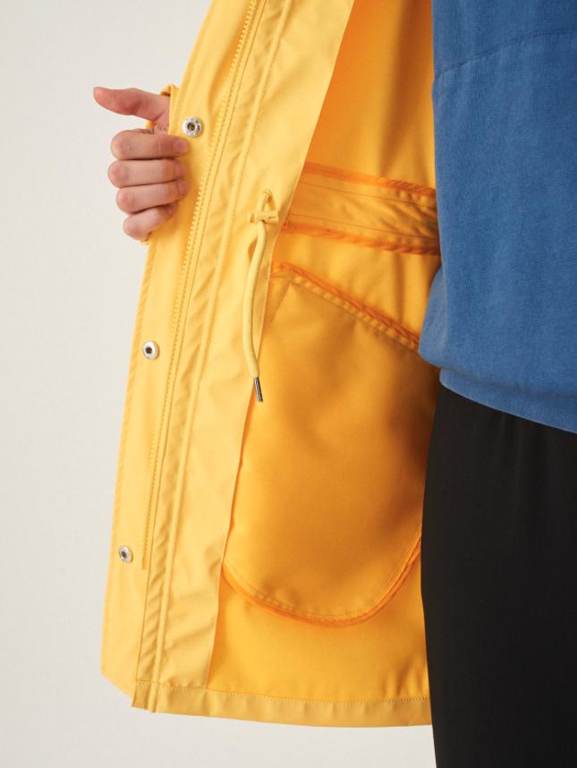 Cleptomanicx Cleptomanicx, Jacket Greta Rain, yellow, M