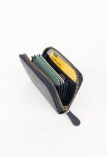 Lost & Found Accessories Lost & Found, Mini Reissverschluss Portemonnaie, marine