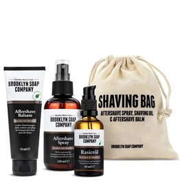 BKLYNSOAP Brooklyn Soap, Shaving Bag
