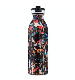24 Bottles, Trinkflasche, Graffiti Beat, 500