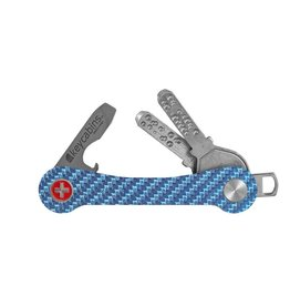 Keycabins Keycabins, Carbon S1, Swiss Cross, light blue
