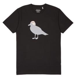 Cleptomanicx Cleptomanicx, Basic Tee Race Gull, black, L