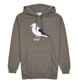 Cleptomanicx Cleptomanicx, Gull 3 Hoodie, Heather Dusty Olive, L