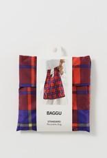 Baggu Baggu, standard, red tartan