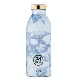 24 bottles 24 Bottles, Thermosflasche, white marble, 500
