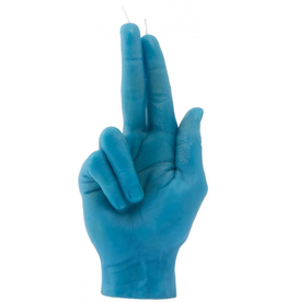 Candle Hand Candle Hand, Gun Fingers, blau