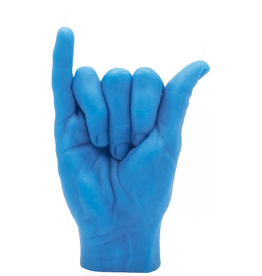 Candle Hand Candle Hand, Shaka, blau