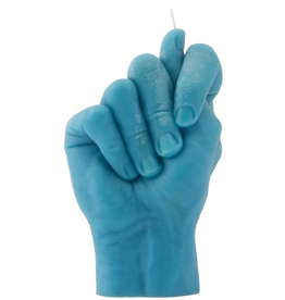 Candle Hand Candle Hand, Fig Hand, blau