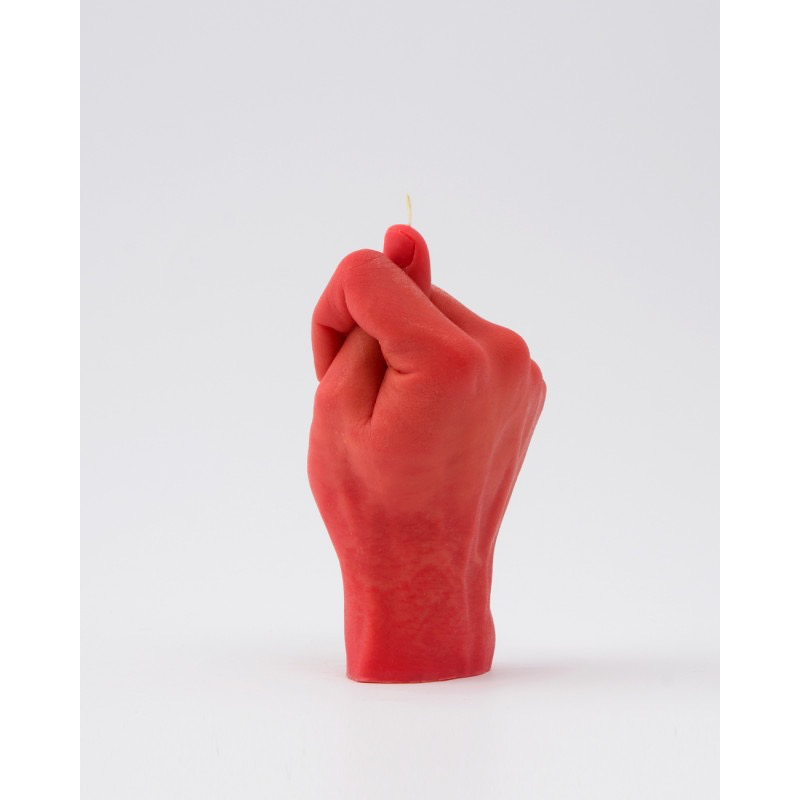 Candle Hand Candle Hand, Fig Hand, rot
