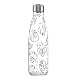 Chilly's Chilly's Bottles, Line Art Edition, leaves, 500ml