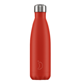 Chilly's Chilly's Bottles, Neon Edition, red, 500ml