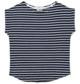 Wemoto Wemoto, Bell Stripe, white/navy blue nep, XS