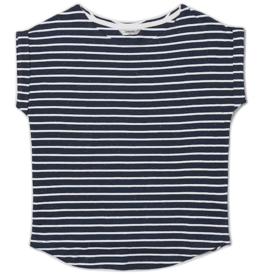 Wemoto Wemoto, Bell Stripe, white/navy blue nep, S
