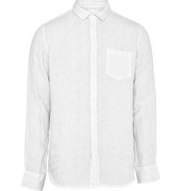 KnowledgeCotton Apparel, Larch Hemd, bright white, M