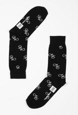 Dedicated Dedicated, Sigtuna Bike Pattern, black, 41-45
