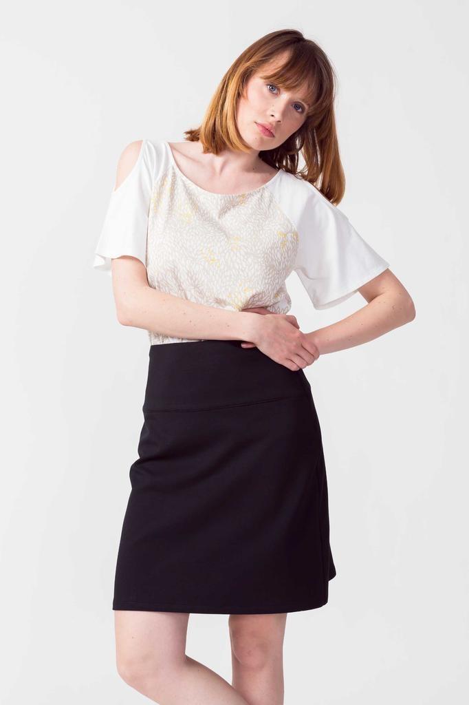 Skunkfunk Skunkfunk, Belky Skirt, black, 38