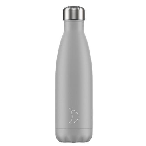 Chilly's Chilly's Bottles, monochrome Edition, light grey, 500ml