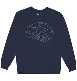 Dedicated Dedicated, Malmoe Wave, navy, XL