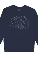 Dedicated Dedicated, Malmoe Wave, navy, L