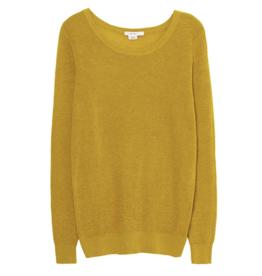 Skunkfunk Skunkfunk, Iradi Sweater, yellow curry, 40
