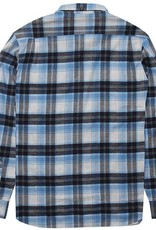 Vissla Vissla, Central Coast LS Flannel, blue wash, M