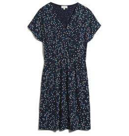 armedangels Armedangels, Laavi Small Flower Sprinkle, night sky blue, XS