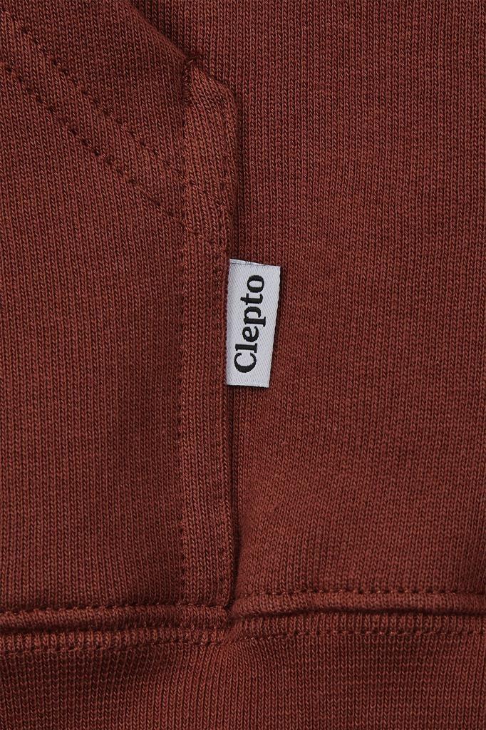Cleptomanicx Cleptomanicx, Hoody, Embro Gull 2, rosewood, XL