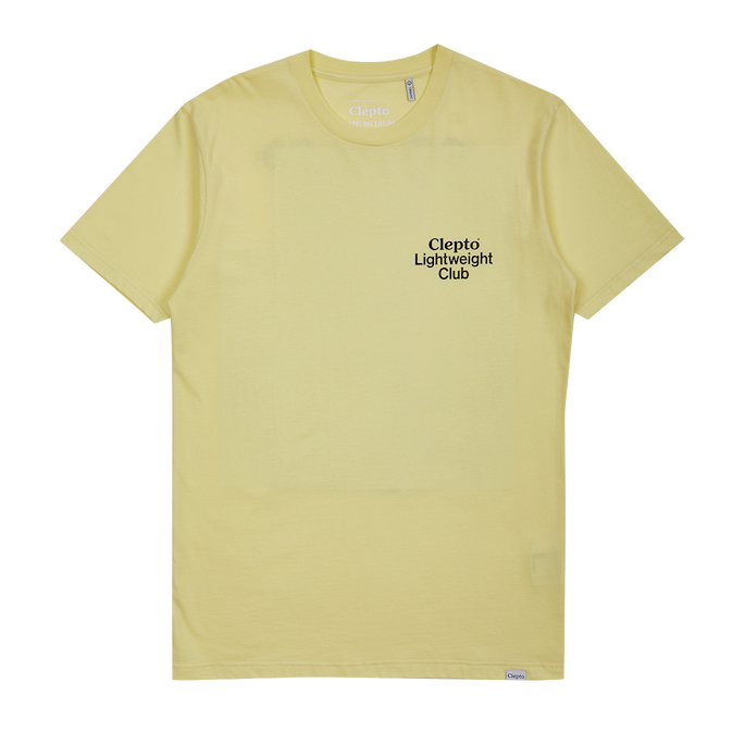 Cleptomanicx Cleptomanicx, T-Shirt light club, yellow, M