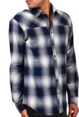Einstoffen Einstoffen, Hemd, Moses Hightower, blau, S