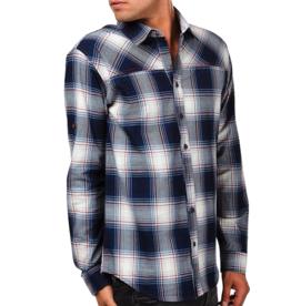 Einstoffen Einstoffen, Hemd, Moses Hightower, blau, XL