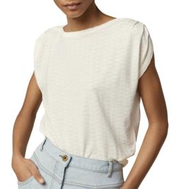 Sessun Sessun, Sixtojacquard T-Shirt, fleur de sel, L