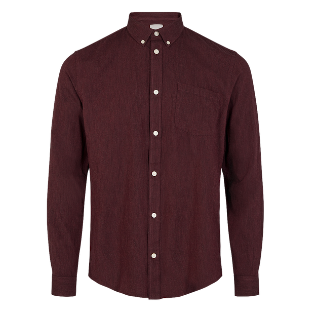 Minimum Minimum, Jay 2.0 Shirt, <br /> bordeaux, L
