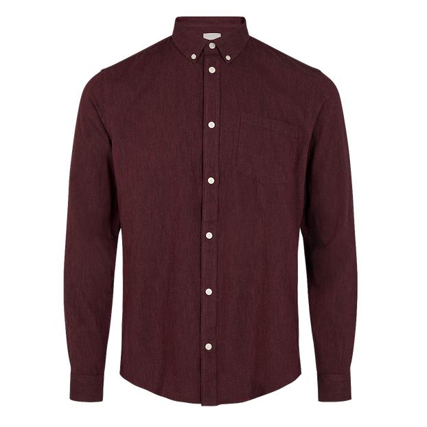 Minimum Minimum, Jay 2.0 Shirt, <br /> bordeaux,S