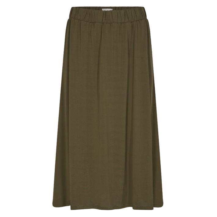 Minimum Minimum, Regisse Skirt, dark olive, XS
