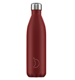 Chilly's Chilly's Bottles,  Matte red, 750ml