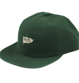 Wemoto Wemoto Cap, Flag Studio Hat, dark green