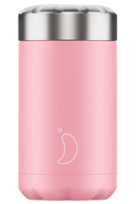 Chilly's Chilly's Bottles, Food Pot, Pastel Pink, 500ml